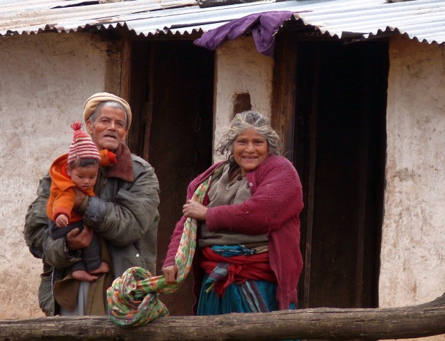 54_Portrait_of_a_couple_in_a_village_at_Uttarakhand_Garhwal,India